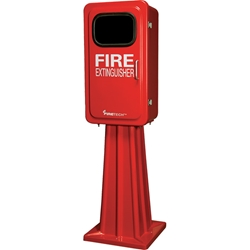 FireTech™ Fire Extinguisher Cabinet Stand