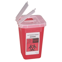Sharps Container, 1 qt