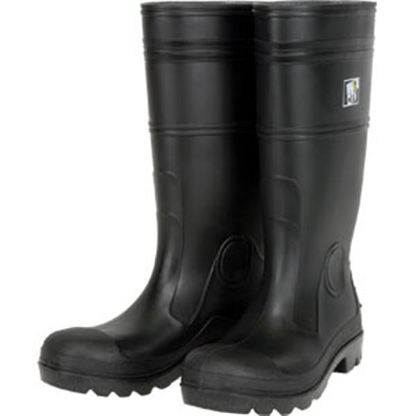 "MCR Safety® 14"" PVC Boots, Steel Toe, Size 12"