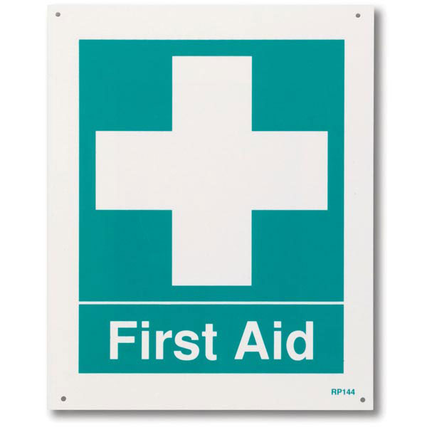 """First Aid"" Sign"