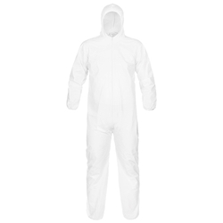 Lakeland MicroMax® Coveralls w/ Hood & Elastic Wrists & Ankles, Large