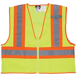 MCR Safety® Luminator™ Class 2 Two-Tone FR Mesh Vest, Large