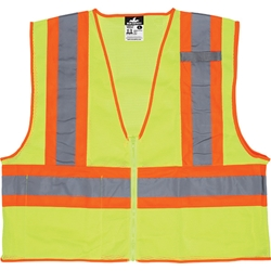 MCR Safety® Luminator™ Class 2 Two-Tone Mesh Vest, Large