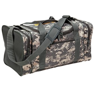 Camo Duffle Bag A-CAMOBAG, Spilltech, Absorbents, Sorbents, Industrial Safety, Spills, Cleanup, Spill Cleanup