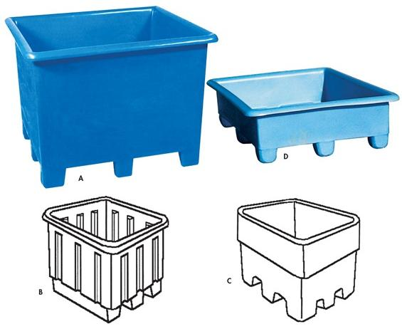 Storage Containers and Bins